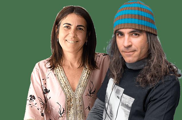 Chema Alonso y Maria Jesus Almazor